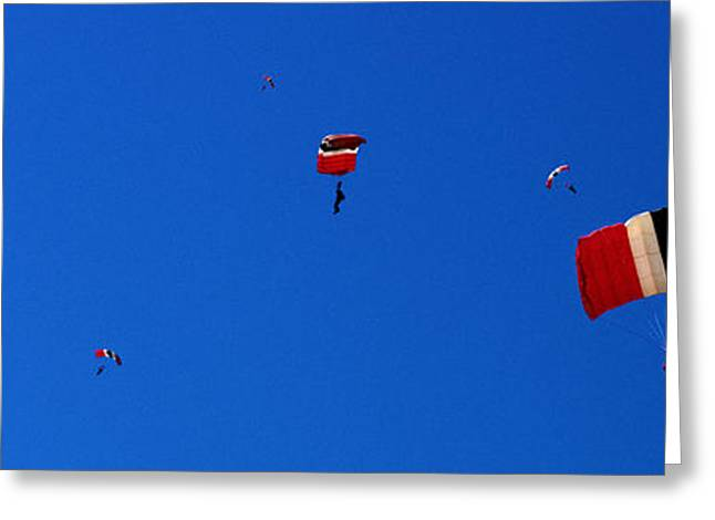 Award Winning Art Greeting Cards - Conquer the Sky Greeting Card by Jason Denning
