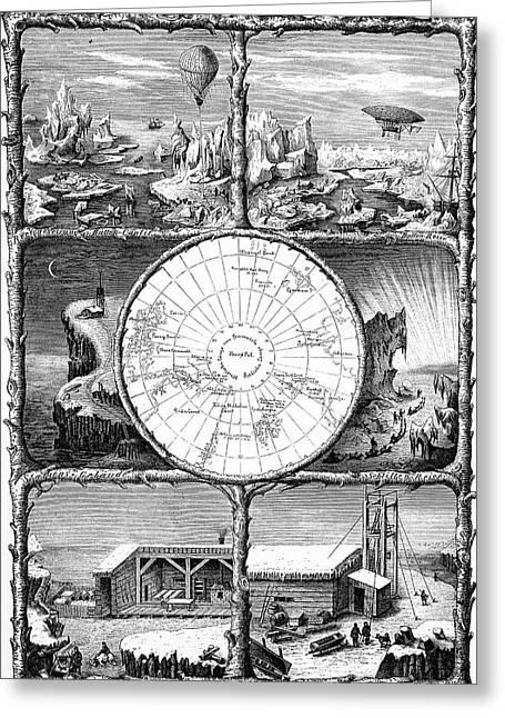 Conquest Of The North Pole Greeting Card by Bildagentur-online/tschanz