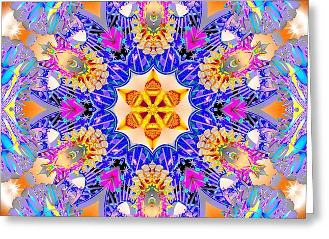 Conscious Mixed Media Greeting Cards - Conscious Keys Greeting Card by Derek Gedney