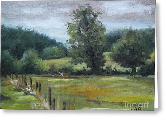 Constable Greeting Cards - Constable country Greeting Card by Louise  Brown