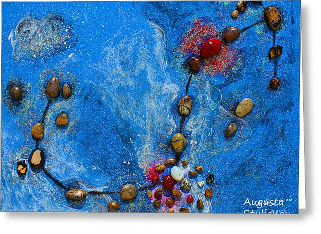 Constellations Greeting Cards - Constellation of Scorpio Greeting Card by Augusta Stylianou