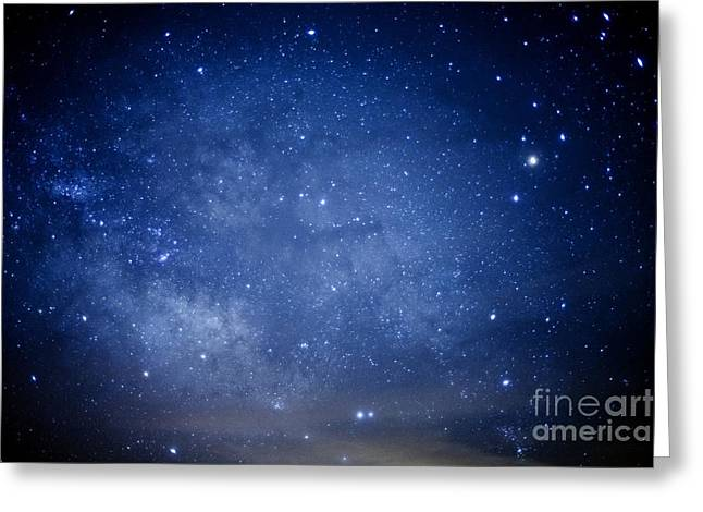 Star Field Greeting Cards - Constellations and Milky Way Greeting Card by Thomas R Fletcher