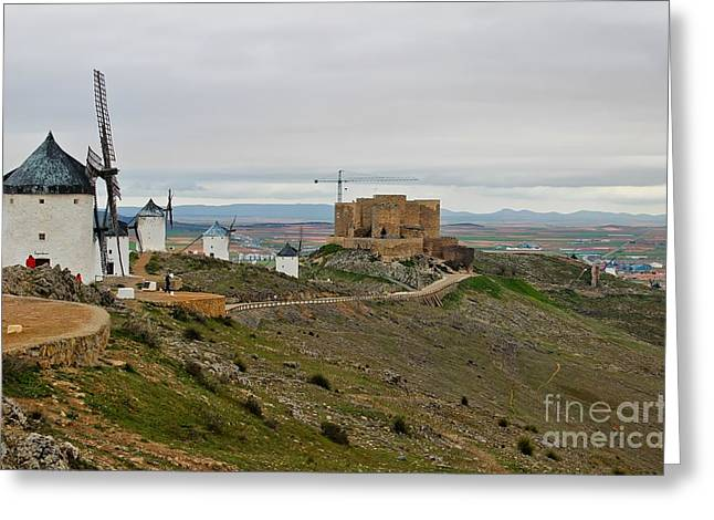 Consuegra Greeting Cards - Consuegra Spain Greeting Card by Tammy Chesney