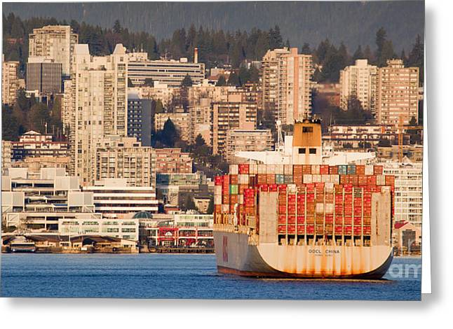 North Vancouver Greeting Cards - Camouflage Greeting Card by Chris Dutton