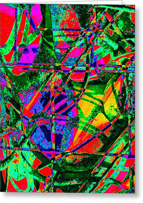 Nature Study Digital Art Greeting Cards - Containing Knowledge V Greeting Card by Steve  Ferguson