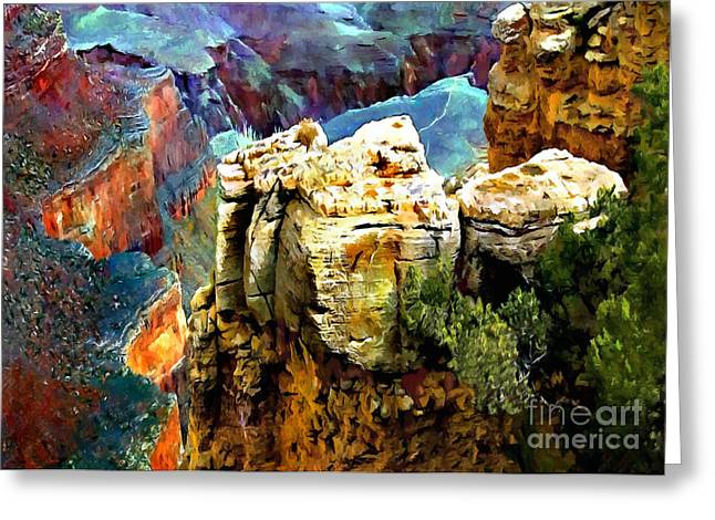 Desertview Greeting Cards - Contemplating spending Forever Here Greeting Card by  Bob and Nadine Johnston