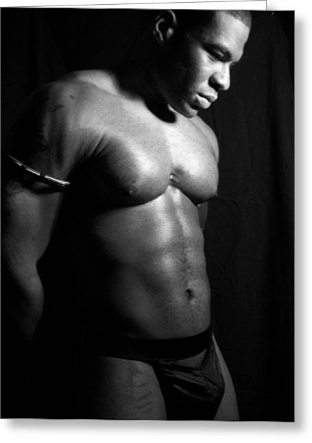 Pecs Digital Greeting Cards - Contemplation of the Nubian Greeting Card by Jake Hartz