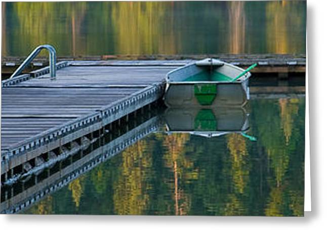 North Idaho Greeting Cards - Contemplation Pano Greeting Card by Idaho Scenic Images Linda Lantzy