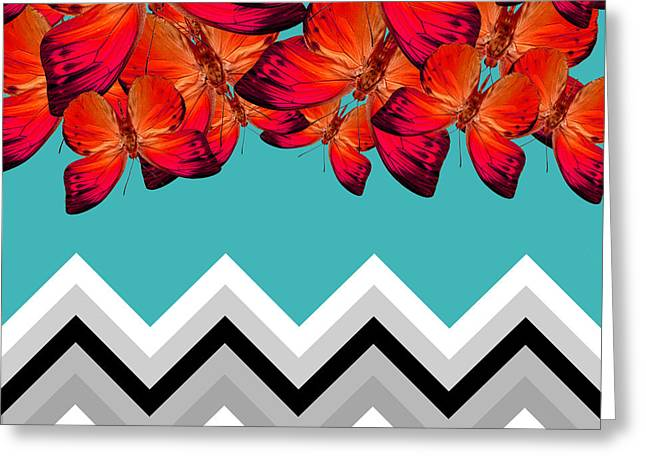 Surreal Geometric Greeting Cards - Contemporary Design Greeting Card by Mark Ashkenazi