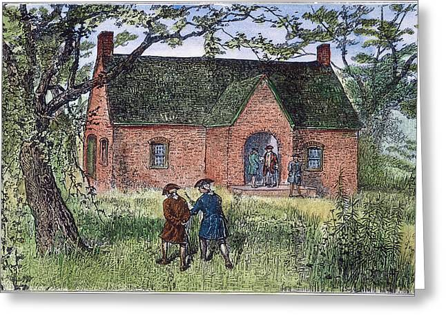 Second Continental Congress Greeting Cards - Continental Congress, 1783 Greeting Card by Granger