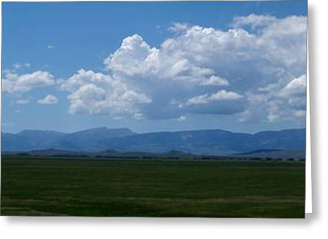 Scapegoat Greeting Cards - Continental Divide Panoramic 3 Greeting Card by Matthew Peek