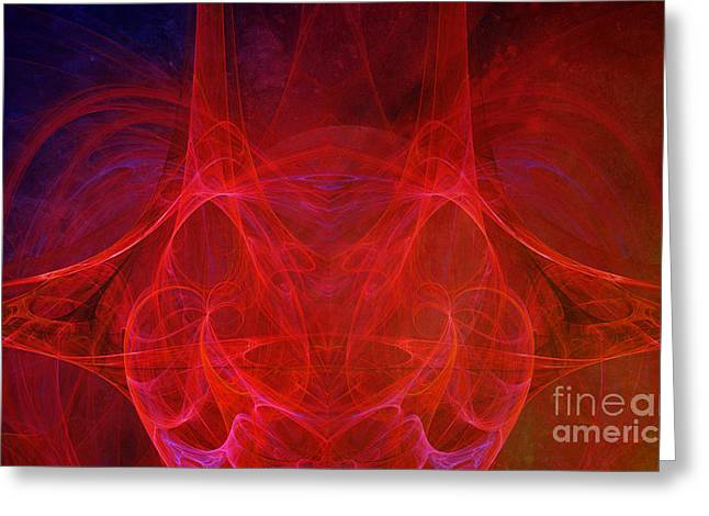Continuum Greeting Cards - Continium Greeting Card by Edward Fielding
