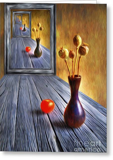 Harmonious Paintings Greeting Cards - Continued... Greeting Card by Veikko Suikkanen