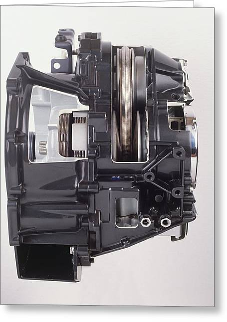 Continuously Variable Transmission Greeting Card by Dorling Kindersley/uig