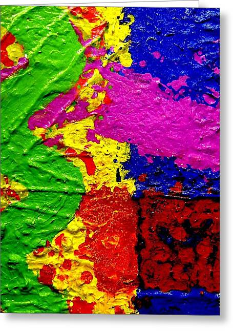 Layers Greeting Cards - Continuum Greeting Card by John  Nolan