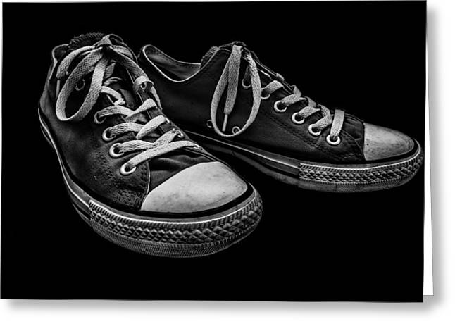 Entspannung Greeting Cards - Converse No 2 Greeting Card by Lubos Kavka