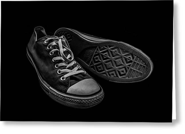 Entspannung Greeting Cards - Converse No 3 Greeting Card by Lubos Kavka