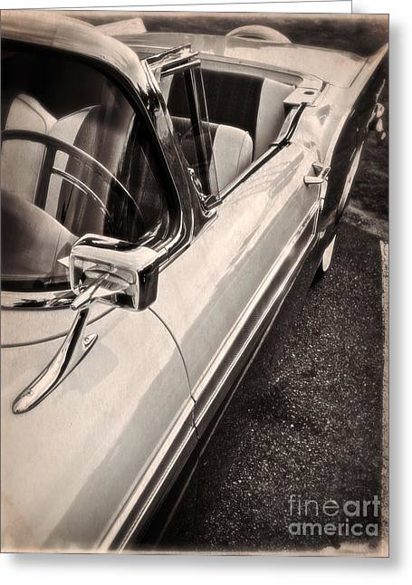 Convertible Dreams Greeting Card by Edward Fielding