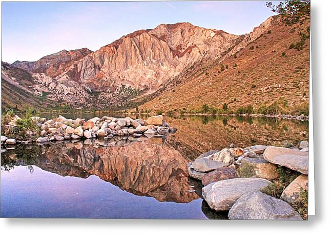 Convict Greeting Cards - Convict Lake Greeting Card by Donna Kennedy