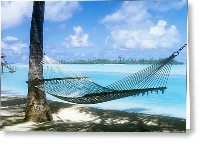 South Pacific Greeting Cards - Cook Islands South Pacific Greeting Card by Panoramic Images