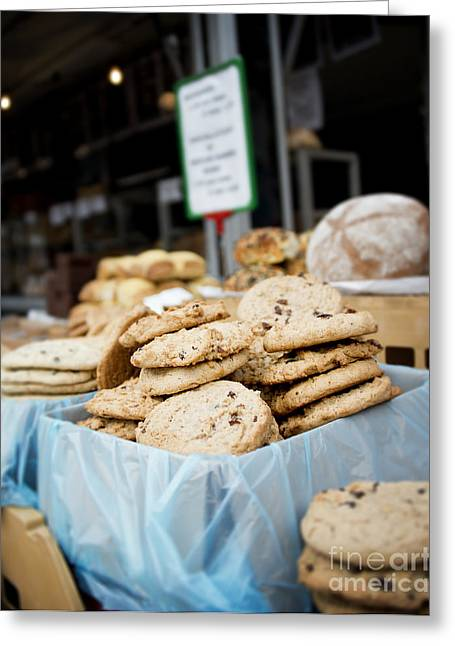 Amsterdam Market Greeting Cards - Cookies Greeting Card by Ivy Ho