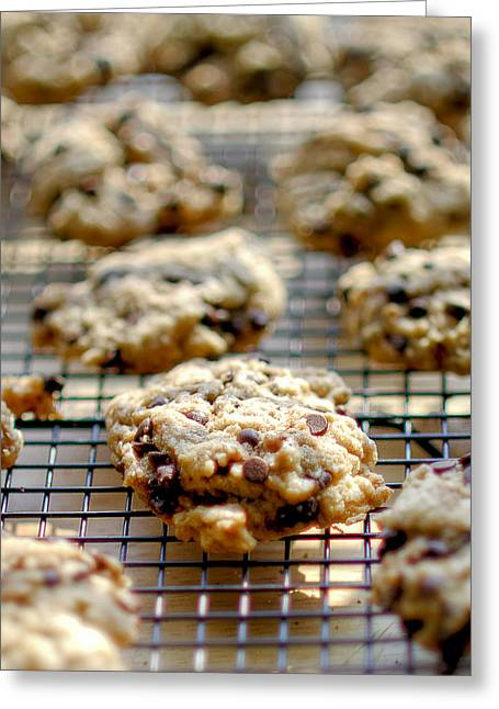 Chocolate Photos Greeting Cards - Cookies Greeting Card by Rick Mosher