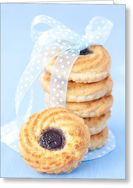 Jam-packed Greeting Cards - Cookies With Jam  Greeting Card by Corinna  Gissemann
