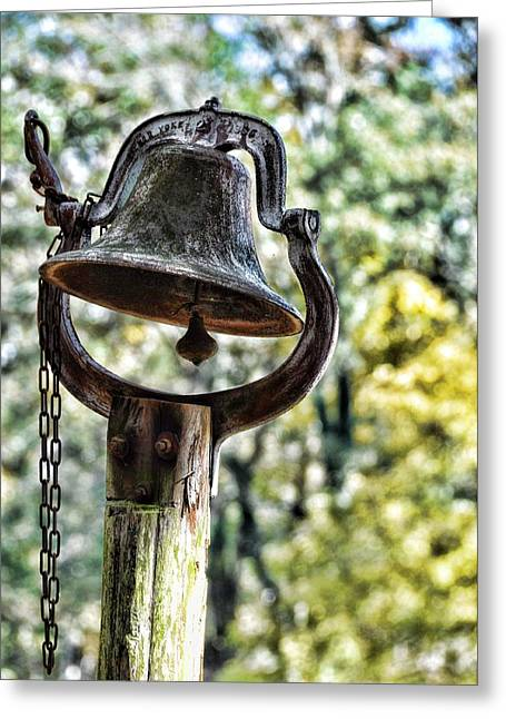 Soft Light Greeting Cards - Cooks Dinner Bell Greeting Card by Jan Amiss Photography