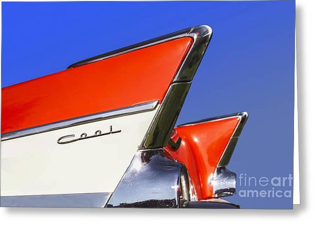 Cool Car Greeting Card by Diane Diederich