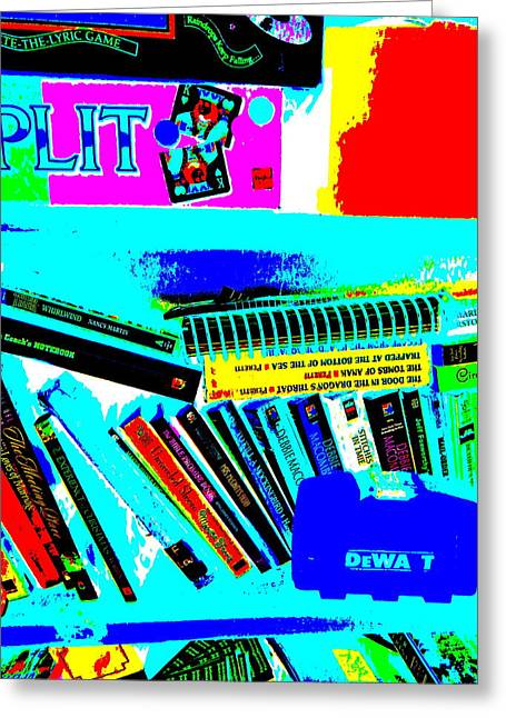 Miscellany Greeting Cards - Cool Clutter 10 Greeting Card by George Ramos