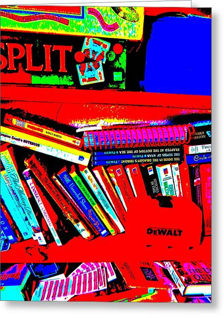 Miscellany Greeting Cards - Cool Clutter 12 Greeting Card by George Ramos