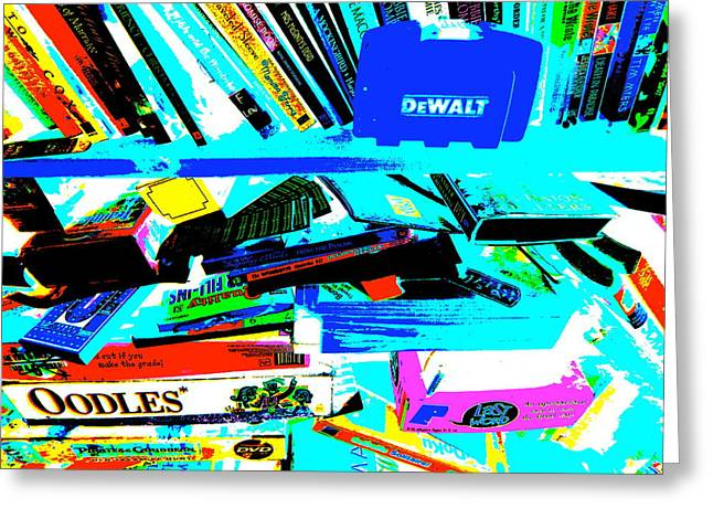 Miscellany Greeting Cards - Cool Clutter 2 Greeting Card by George Ramos