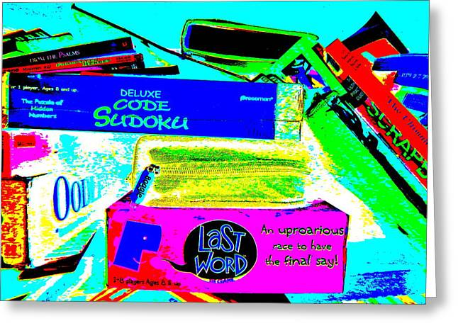 Miscellany Greeting Cards - Cool Clutter 34 Greeting Card by George Ramos
