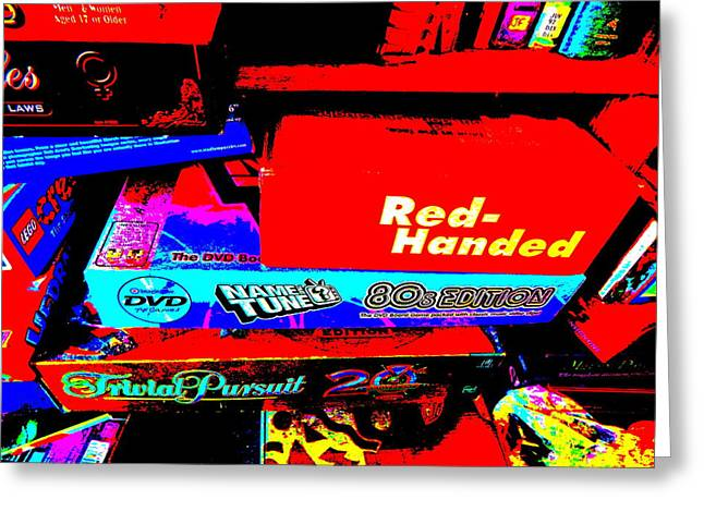 Miscellany Greeting Cards - Cool Clutter 37 Greeting Card by George Ramos