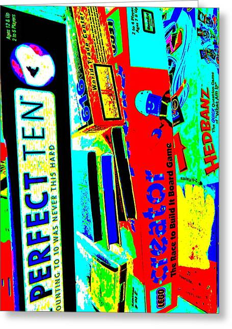 Miscellany Greeting Cards - Cool Clutter 40 Greeting Card by George Ramos