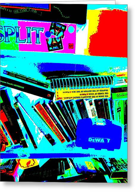 Miscellany Greeting Cards - Cool Clutter 8 Greeting Card by George Ramos