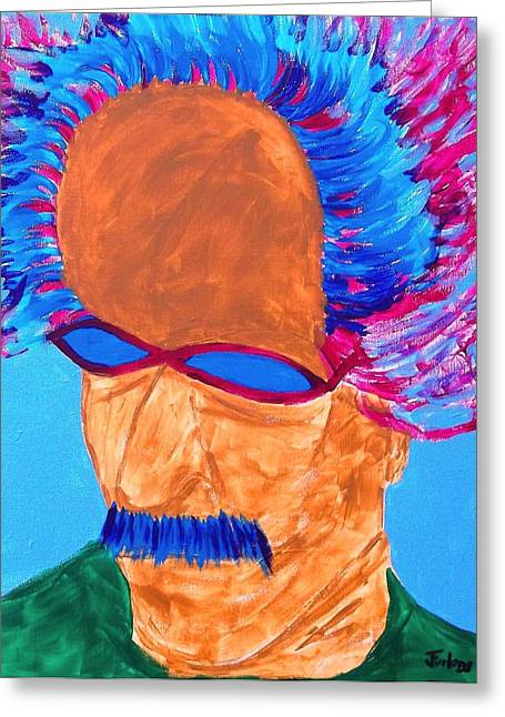 Adjectives Greeting Cards - Cool DaddyO Greeting Card by Jim  Furlong