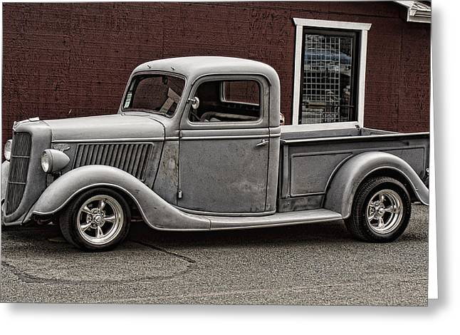 Ron Roberts Photography Greeting Cards - Cool little Ford Pick Up Greeting Card by Ron Roberts