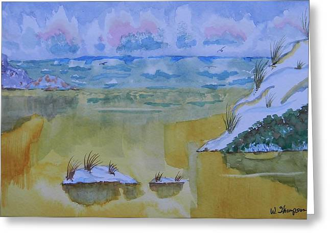 My Ocean Greeting Cards - Cool Sand Between My Toes Greeting Card by Warren Thompson