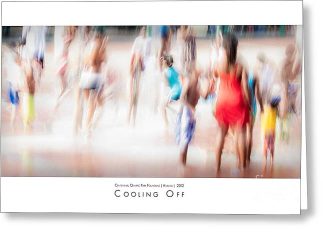 Cooling Off Greeting Cards - Cooling Off Greeting Card by Doug Sturgess