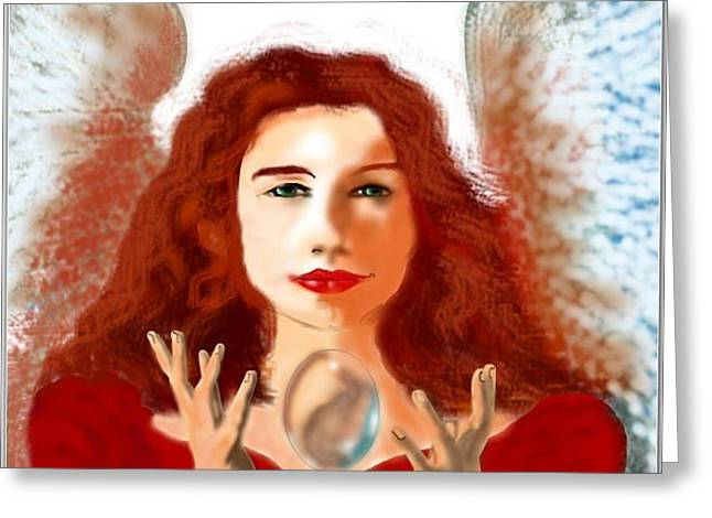 Tori Amos Greeting Cards - Cooling Greeting Card by Stephen Zajchowski