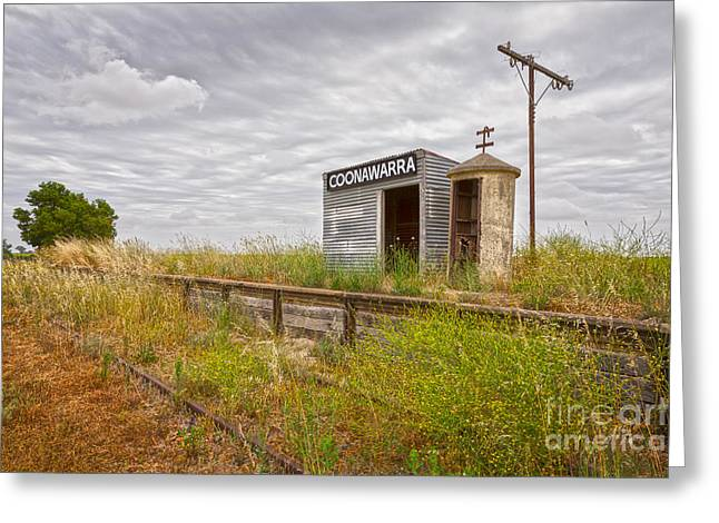 Disused Greeting Cards - Coonawarra Station South Australia Greeting Card by Colin and Linda McKie