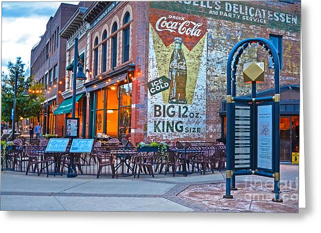 Fort Collins Photographs Greeting Cards - Cooper Smiths Greeting Card by Baywest Imaging