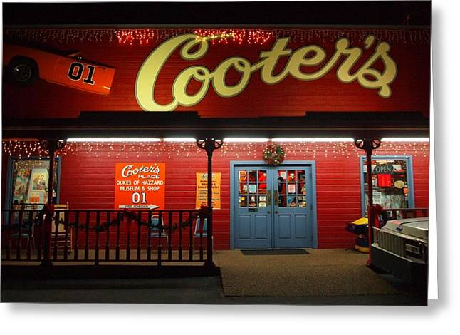 Cooters At Christmas Greeting Card by Dan Sproul