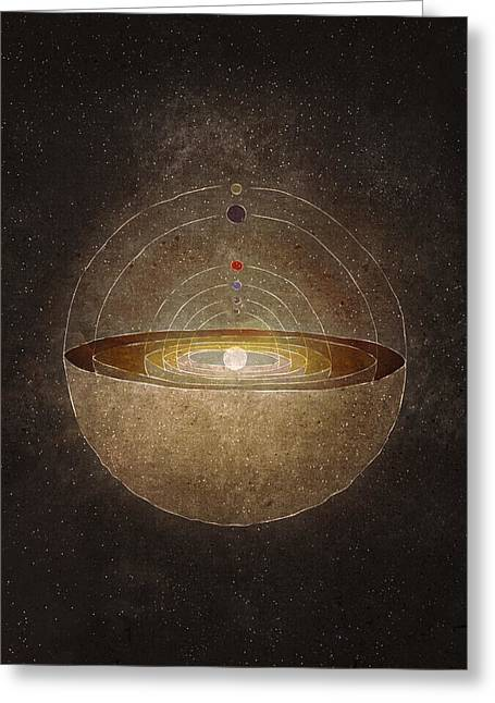 Copernicus Greeting Cards - Copernicus Greeting Card by Joanna Kleczar