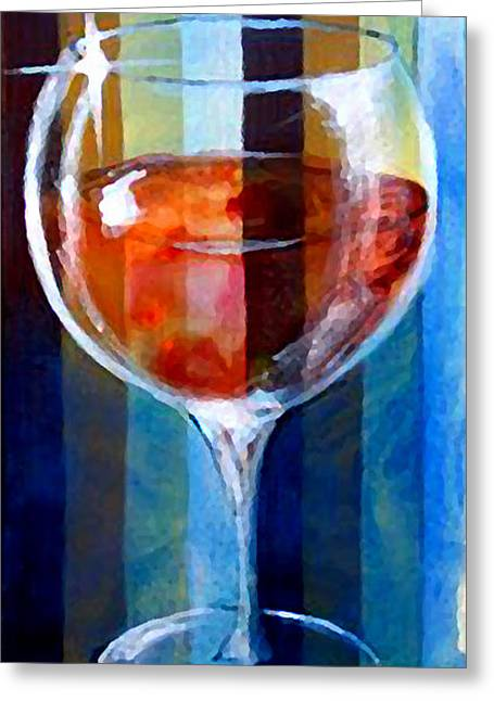 Champagne Glasses Greeting Cards - Coppa Greeting Card by Marcello Cicchini