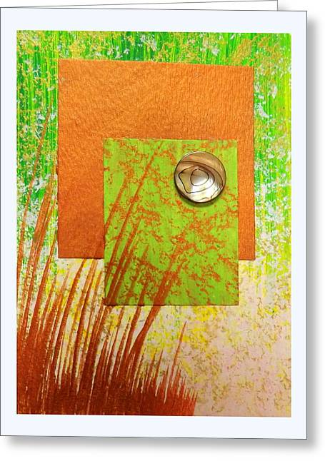 Darren Mixed Media Greeting Cards - Copper Sunset Greeting Card by Darren Robinson