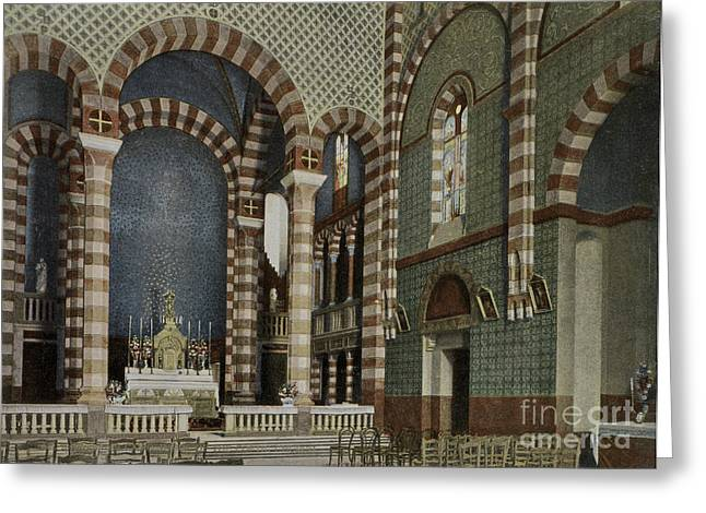 Coptic Church, Cairo, Egypt, 1906 Greeting Card by Getty Research Institute