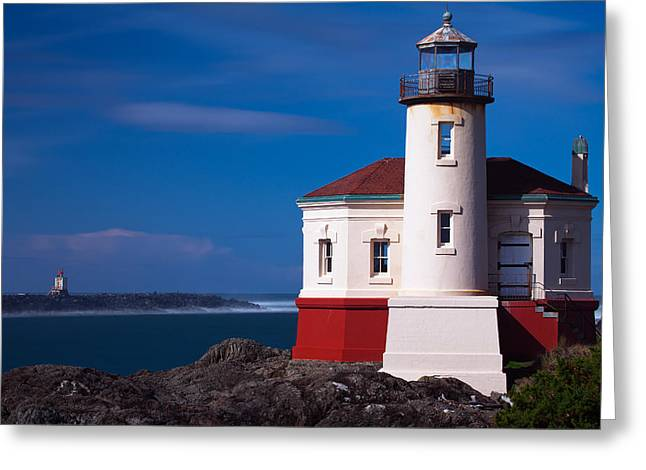 Oregon Greeting Card Greeting Cards - Coquille Greeting Card by Darren  White