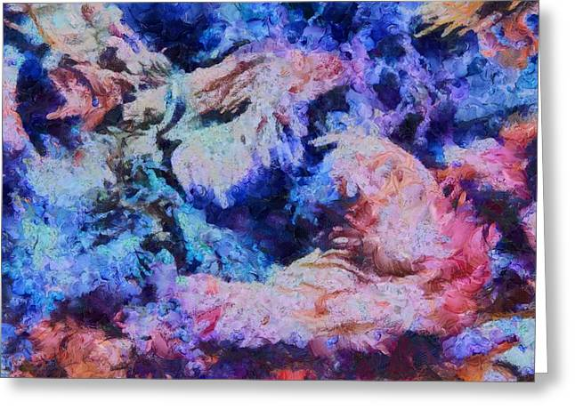 Coral Heaven Greeting Card by Dan Sproul
